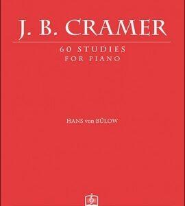 J.B.CRAMER - 60 STUDIES FOR PIANO